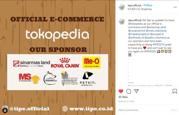 Arthacat sponsor IIPE 2019